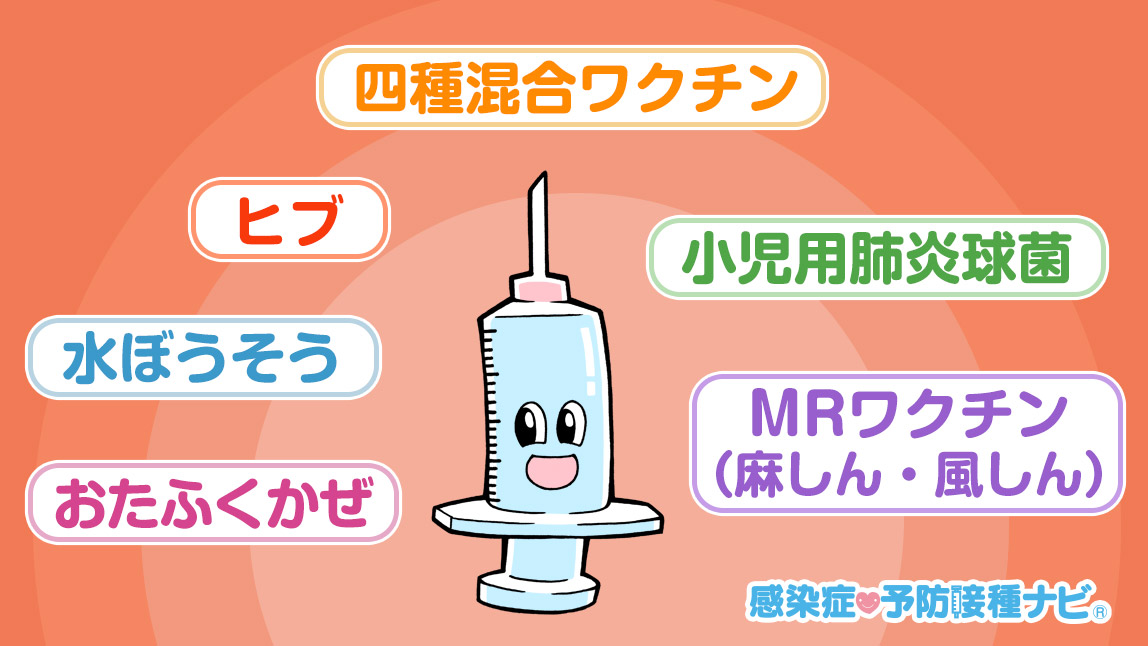 予防接種を受けよう!